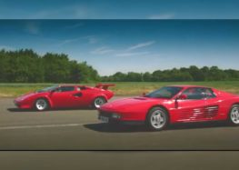 Lamborghini Countach виставили проти FerrariTestarossa (відео)