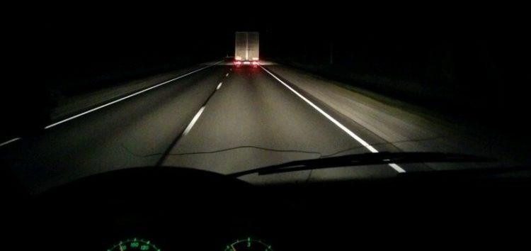 Як їздити вночі