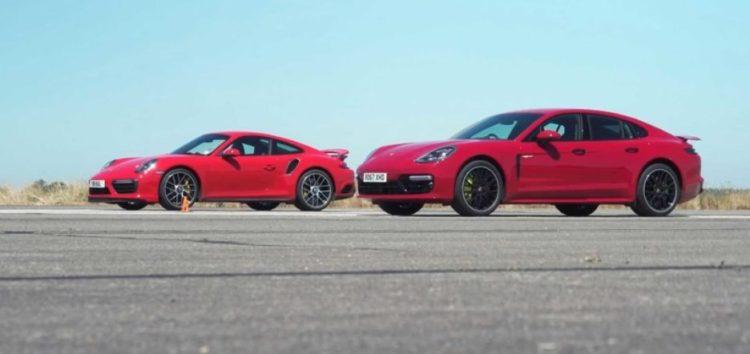 Porsche Panamera Turbo S проти Porsche 911 Turbo S (відео)
