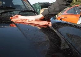 Як правильно сушити кузов автомобіля
