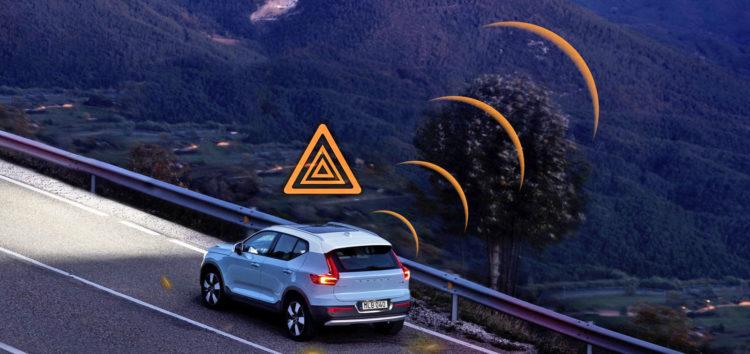 Volvo будуть передавати один одному дані про небезпечні дороги