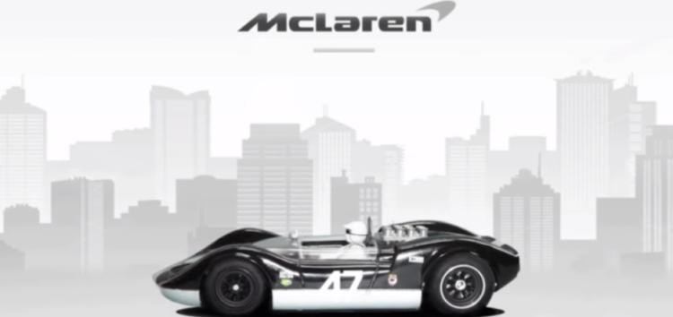 Еволюція автомобілів McLaren (відео)