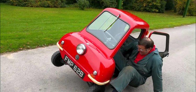 Найменший автомобіль: Peel P50