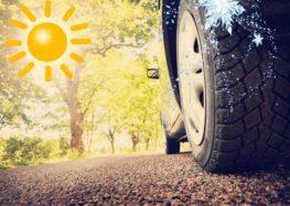 Небезпека їзди на зимових шинах влітку