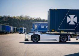 Безкабінні вантажівки Volvo вже працюють (відео)