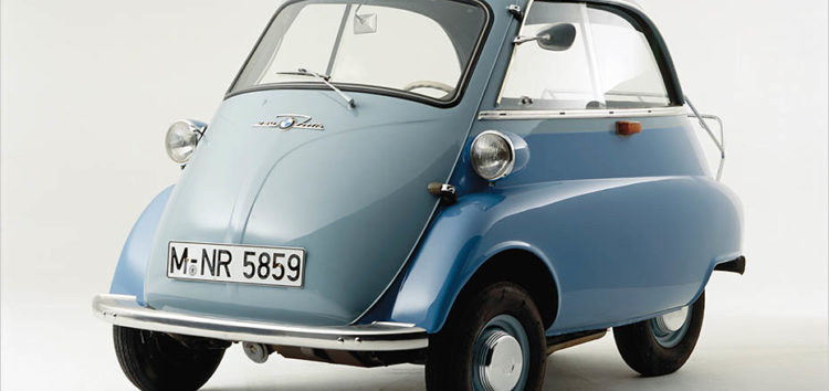Isetta: машина, що врятувала BMW