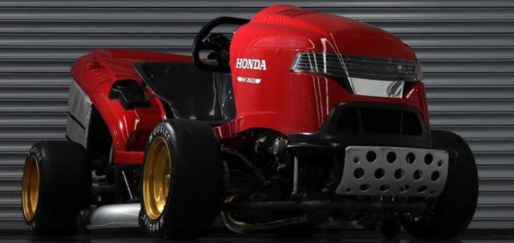 На газонокосарці Honda поставили швидкісний рекорд (відео)