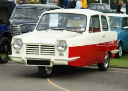 Трьохколісні автомобілі: Reliant Regal