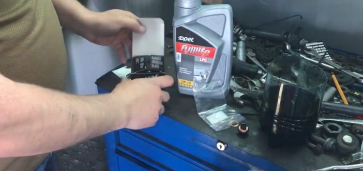 Заміна моторного мастила OPET FULLLIFE LPG 5W-30 4L на INFINITI QX56 (відео)