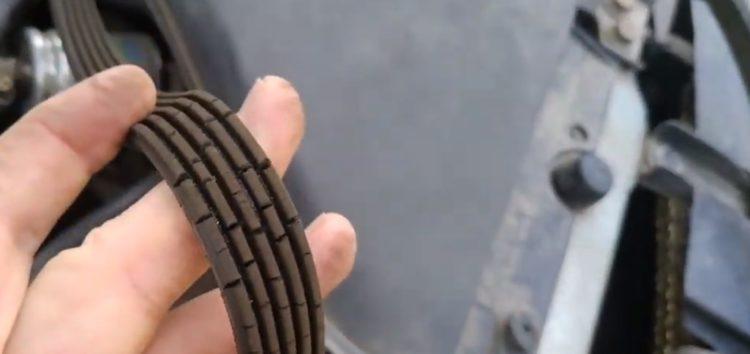 Заміна поліклінового ременя DAYCO 5PK1340 на Mitsubishi Carisma (відео)