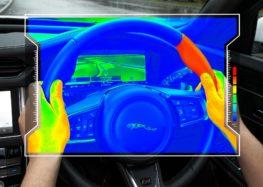 Jaguar придумав «сенсорне» кермо