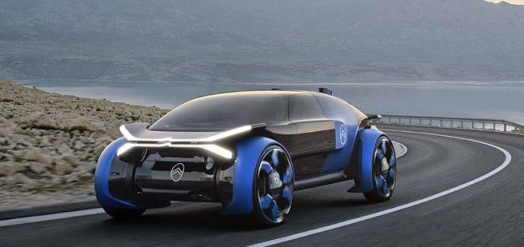 Citroen показав концепт з 30-дюймовими колесами