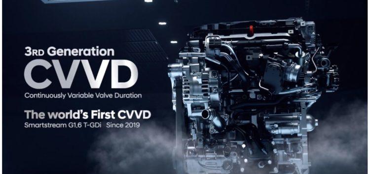 Hyundai презентував більш ефективні двигуни CVVD