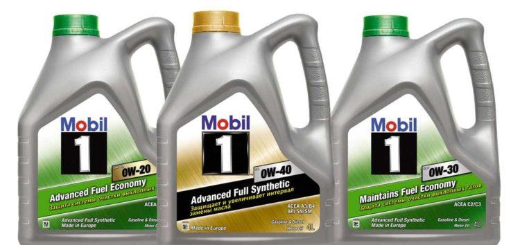 Огляд моторних олив Mobil