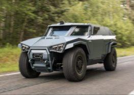 Volvo створила бронемобіль для армії (відео)