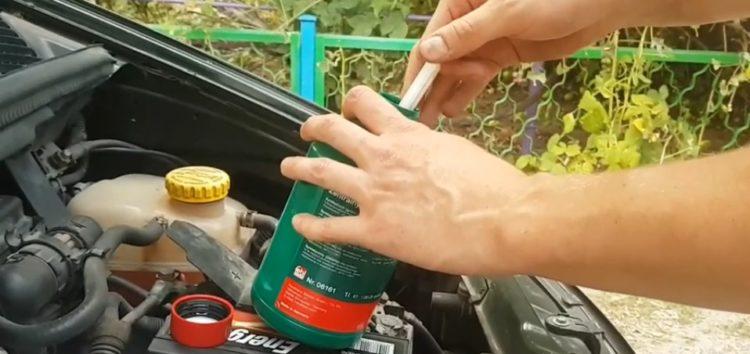Заміна гідравлічної оливи FEBI 06161 на Opel Zafira А (відео)