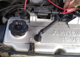 Заміна високовольтних дротів TESLA T533P на Mitsubishi Carisma (відео)