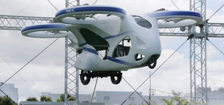 Компанія NEC показала триколісний флай-кар (відео)