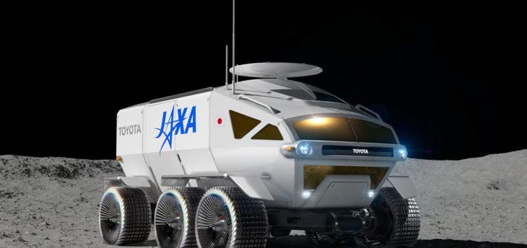 Toyota використає серійну модель для будівництва місяцеходу