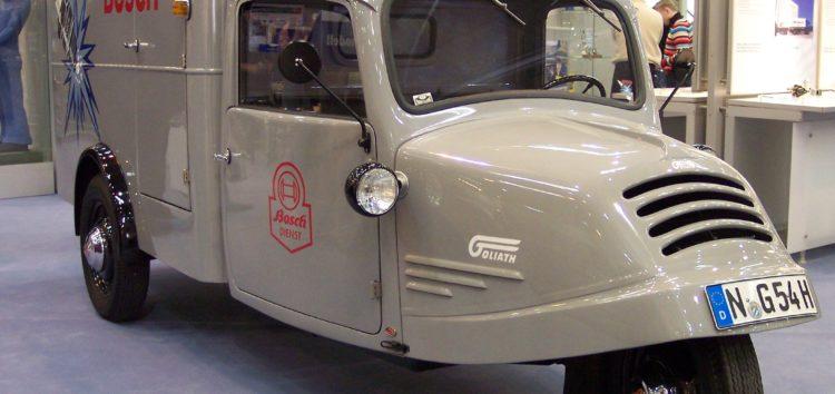 Трьохколісні автомобілі: Goliath Transporter