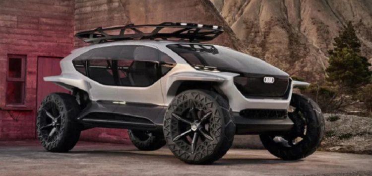 Audi показала концепт з дронами замість фар (відео)