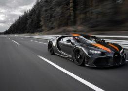 Bugatti Chiron подолав відмітку 300 миль на годину! (відео)