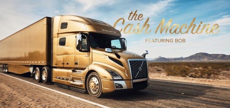 Volvo показали розкішне життя водія вантажівки (відео)