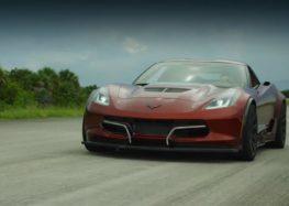 Електро-Corvette ставить рекорд швидкості (відео)