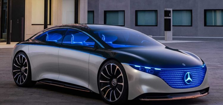 Mercedes-Benz Vision EQS: майбутнє S-класу