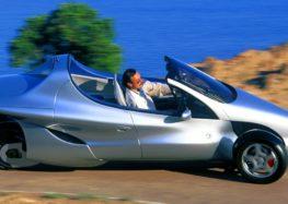 Трьохколісні автомобілі: Mercedes F 300 Life Jet
