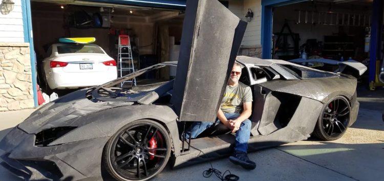 Lamborghini на 3D-принтері (відео)