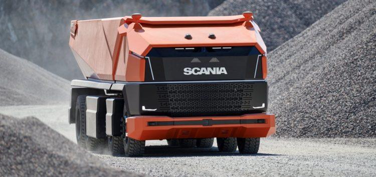 Scania показала AXL – самоскид без кабіни