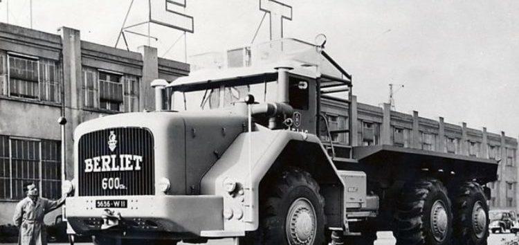 Найбільша вантажівка Франції: Berliet T100