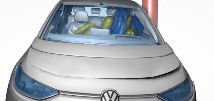 Volkswagen ID 3 матиме інноваційний ейрбег