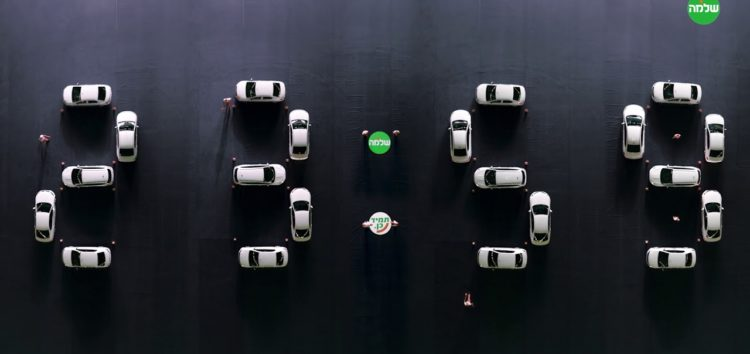 Працюючий годинник з автомобілів (відео)