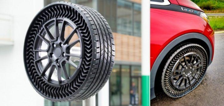 Нові безповітряні шини Uptis від Michelin