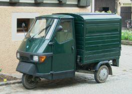 Трьохколісні автомобілі: Piaggio Ape
