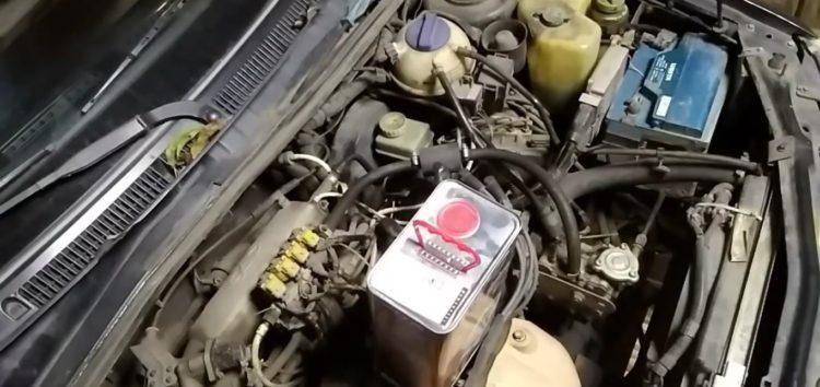 Заміна моторної оливи Evo E7 5W-40 на Chery Amulet (відео)