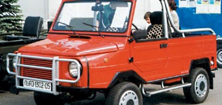 Незвичайні автомобілі: ЛуАЗ-1302-05 «Форос»