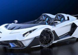 Унікальна Lamborghini без вітрового скла: SC20 Squadra Corse