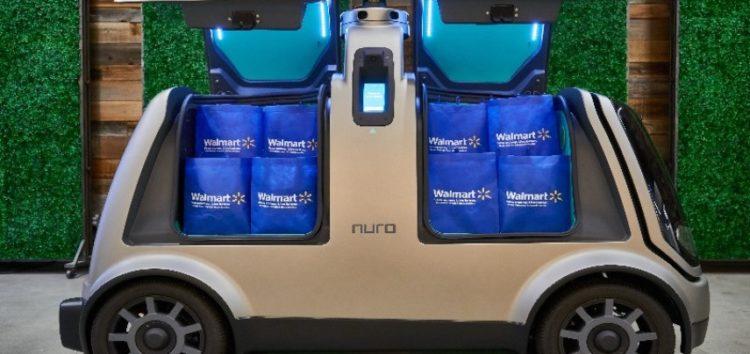 Walmart почне доставляти продукти безпілотниками Nuro (відео)