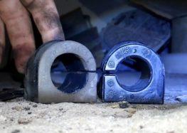 Заміна втулки стабілізатора FEBI 03885 на Opel Senator B (відео)