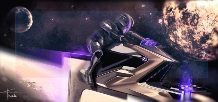 Lexus показав космольоти для Місяця