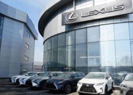 У Lexus буде унікальне маркування проти крадіїв