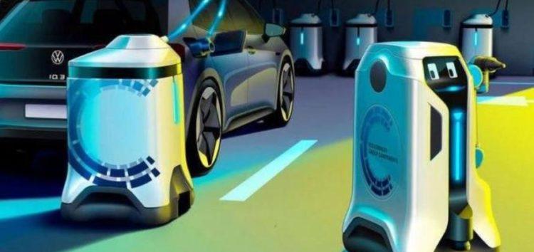 Volkswagen створив роботів-зарядників