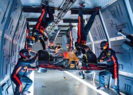 Red Bull Racing та піт-стоп у невагомості (відео)