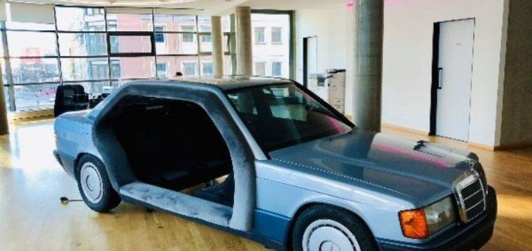 «Переговорна» з Mercedes-Benz