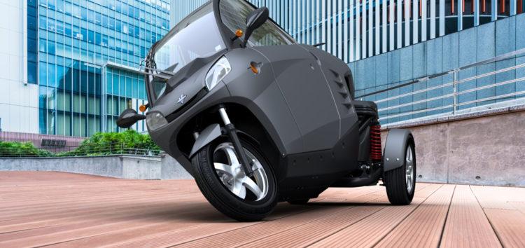 Триколісні автомобілі: Carver One