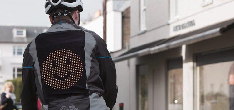 Ford створив вело-куртку з екраном