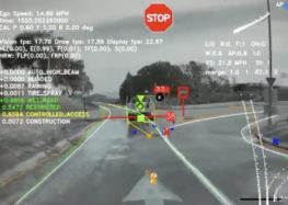 Tesla показала, что видит автопилот (видео)